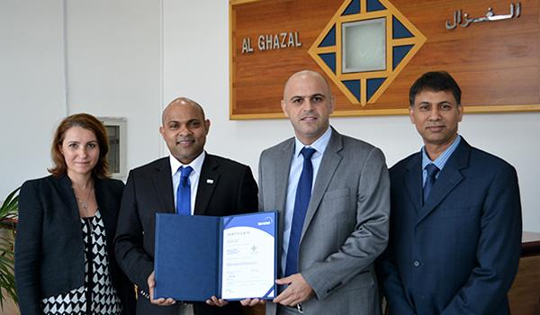 Al Ghazal Transport Receives Prestigious ISO 9001:2008